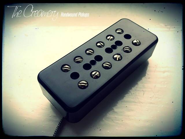 P90 'Fat' Humbucker in Gibson 90 sized regular adapted covers