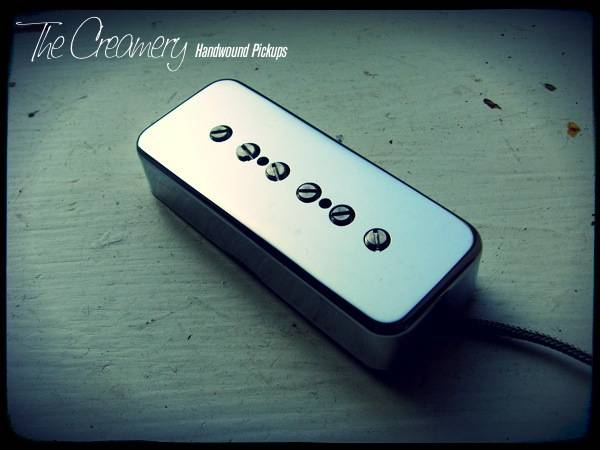 Creamery Custom Shop Handwound Sonic-Six Replacement P90 Pickup