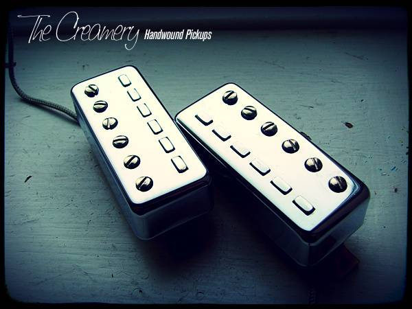 Creamery Handwound Replacement Classic 511 Nova-Sonic Staple Mini-Humbucker Pickup Set