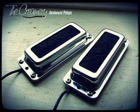 Creamery Custom Replacement Ric Rickenbacker Style Humbucker Set