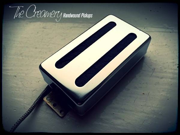 Creamery Custom Ric Toaster Style Pickup Gibson PAF Size