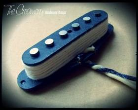 Creamery Custom Handwound Replacement Alt '88 Overwound Mustang Duo-Sonic Pickup - Treble