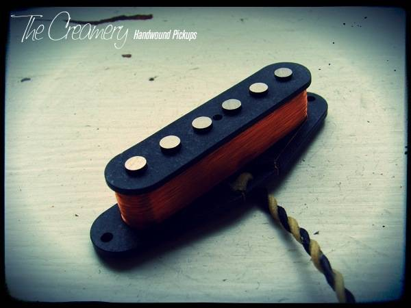 Creamery Custom Handwound Classic '69 Strat Pickup - Bright, Attacking, Late '60s Design Strat Tones