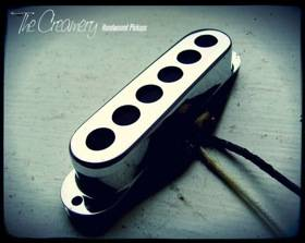 Creamery Custom Handwound Sonic '60 Mustang Sized Tri-Sonic Design Pickups - Twin Coil