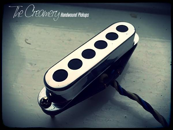 Creamery Custom Sonic 60 Twin Coil Replacement Strat Pickup