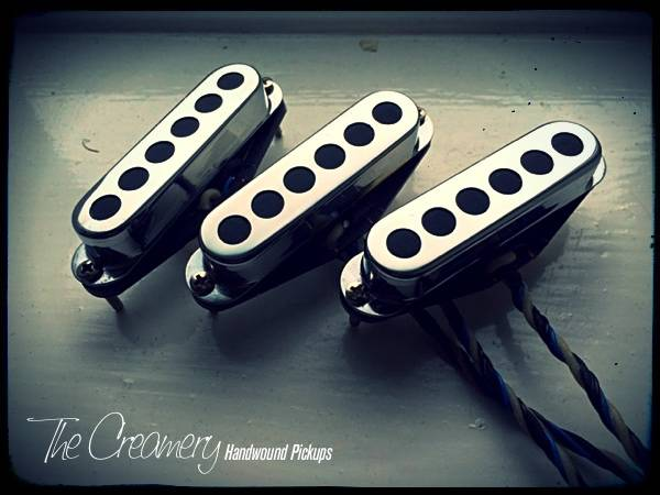 Creamery Custom Sonic 60 Twin Coil Replacement Strat Pickup Set