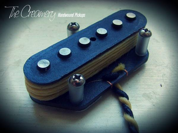 Creamery Custom Handwound Alnico 3 Vintage 1 Nocaster Tele Bridge Pickup - Based on the Classic 'Nocaster' Tones