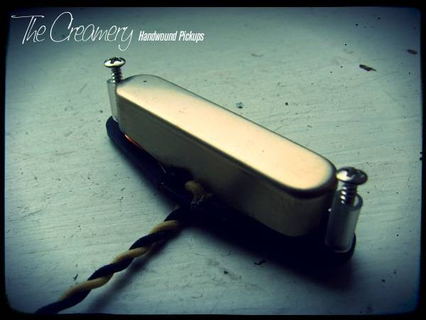 Creamery Custom Handwound Alnico 2 Vintage 2 Broadcaster Tele Neck Pickup - Based on the Classic 'Broadcaster' Tones