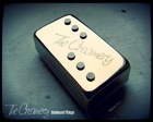 'Domino' Hum-Cancelling, Humbucker Sized Single Coil Pickup