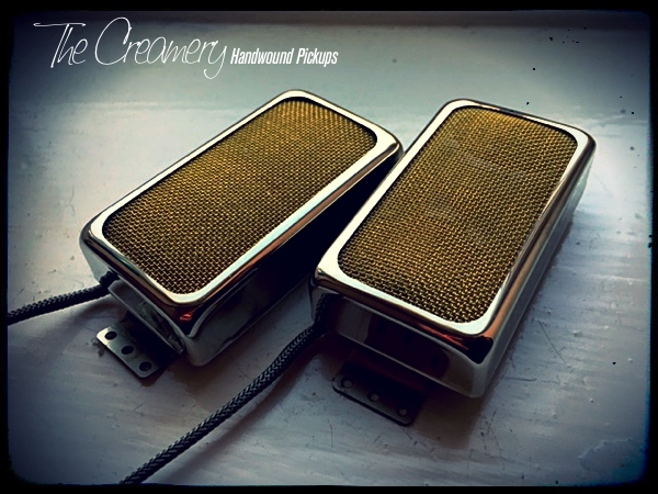 Creamery Custom Sweet 14 Gold Foil Pickup Gibson PAF Humbucker Size
