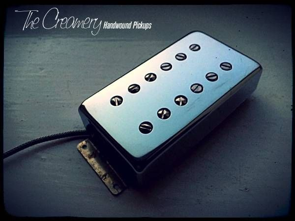 Creamery Custom Wide Range Humbuckers - Replacements & Upgrades for