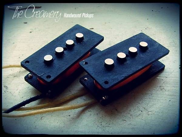 Creamery Custom Handwound Custom Solo '14 Replacement P-Bass Pickup