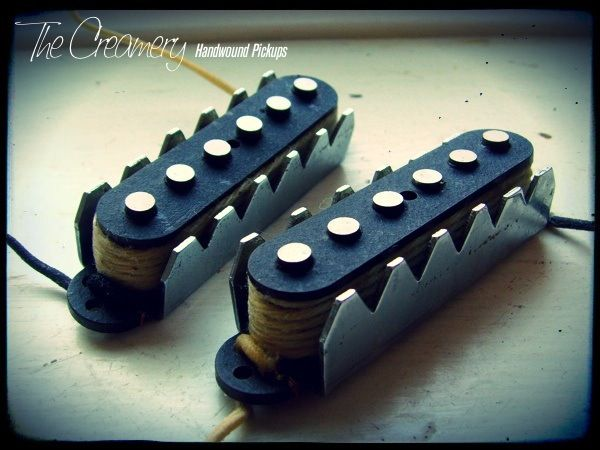 Creamery Custom Handwound Alt '88 Replacement Jaguar Pickups