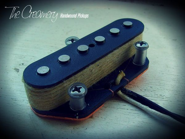 Creamery Custom Handwound Alt '88 Overwound Replacement Telecaster Bridge Pickup