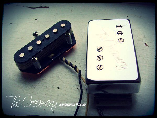 Creamery Custom Handwound Balanced Calibrated Telecaster '72 Custom Pickup Set