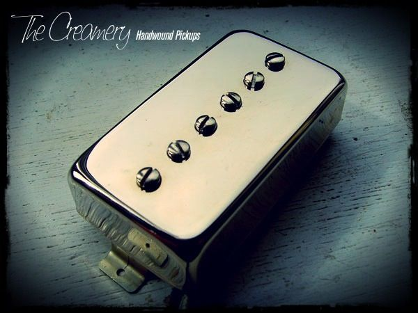 Creamery Custom Handwound Humbucker Sized P90 Pickup - Hum-90