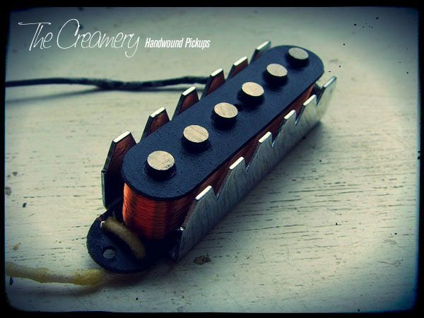 Creamery Custom Handwound Replacement Classic '62 Jaguar Pickups with steel claws