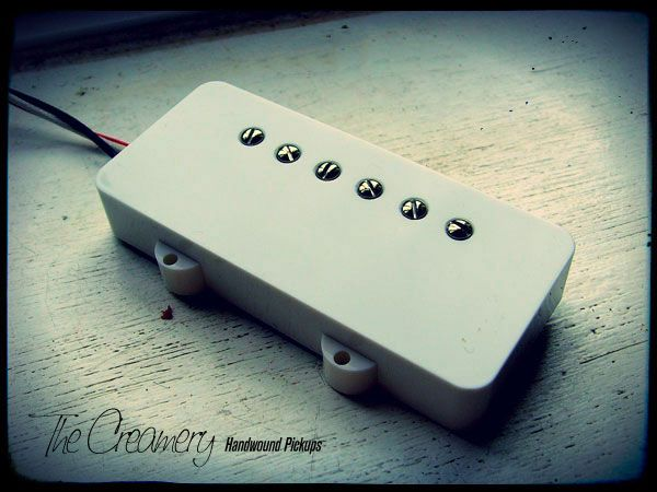 Creamery Custom Handwound Replacement Humbucker For Jazzmaster Size Pickup