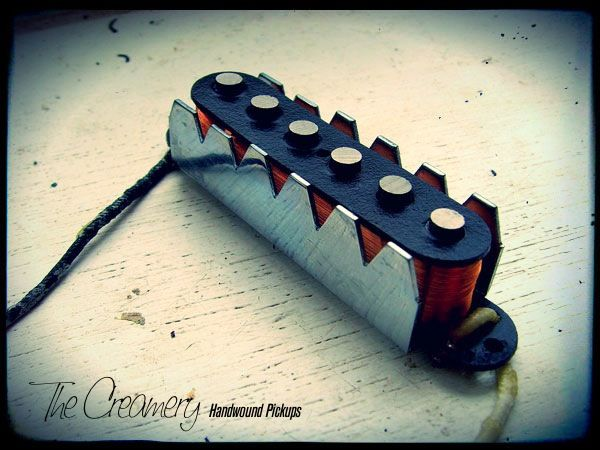 Creamery Custom Handwound Replacement Jaguar Pickups with steel claws