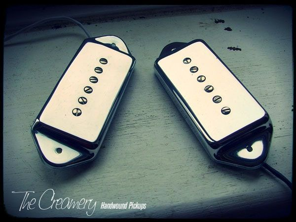 Creamery Custom Handwound Replacement Vintage Classic '61 Casino Pickup Set