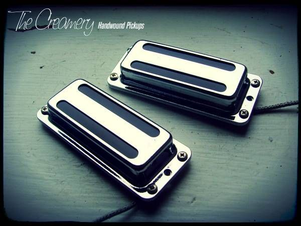 Custom Replacement Ric® Rickenbacker® Low 57 Pickup Set