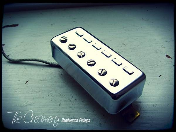 Creamery Handwound Replacement Classic 511 Nova-Sonic Staple Mini-Humbucker Pickup