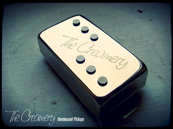 Creamery Custom Handwound Domino Single Coil Voiced Replacement Humbucker Sized Pickup