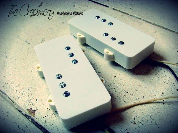 Creamery Custom Handwound Wide Range Tele Humbucker for Jazzmaster Replacement Pickup Set