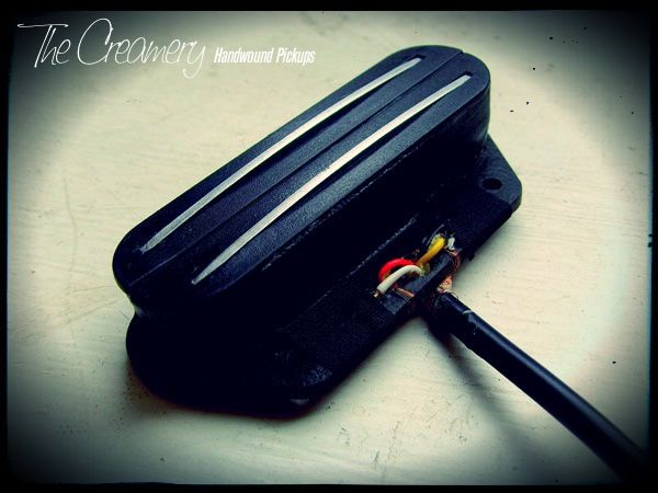 Creamery Custom Hum-Cancelling Replacement Telecaster Bridge Pickup