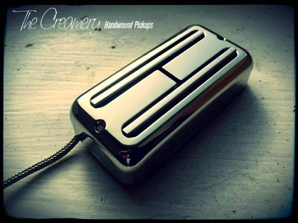 Creamery Custom 'Super' Black Cat No-Ears Mount Replacement Filtertron Pickup