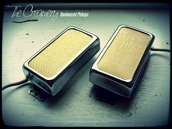 Creamery Custom Sweet '14 Rich Coil Pickups
