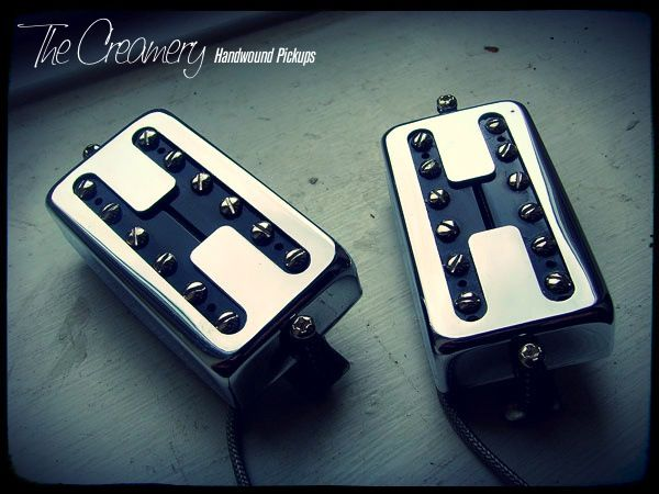 Creamery Handwound Custom Black Cat Humbucker Sized Replacement Filtertron Pickup Set