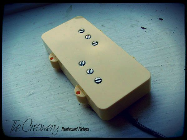 Creamery Custom Handwound Replacement Wide Range Humbucker Pickup for Jazzmaster